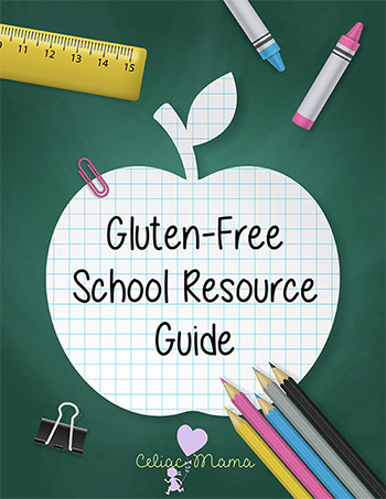 Gluten Free School Resources